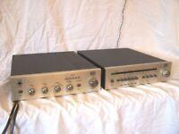 ITT HiFi 2440 Vintage High End Verstärker & ITT HiFi 2461 AM/FM Stereo Tuner