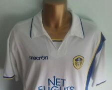 Leeds United 2009/10 Macron  Football Shirt Home