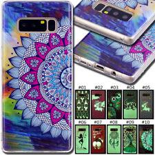For Samsung Galaxy Fashion Luminous Soft Silicone TPU Skin Case Phone Back Cover