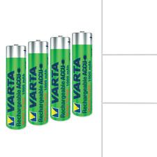 Varta AAA NiMH Batterie - 1000 mAh