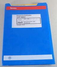 Manuale Officina VW Golf IV / 4 Ab 1998 Simos Einspritz- & Zündanlage Von