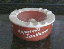 """RARER Villeroy + Boch, V&B Werbe-Aschenbecher """"Appareils Sanitaires Carreaux"""""""