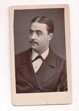 Vintage CDV Victorian Actor / Opera Singer ?  M. Maruis ?