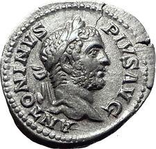 CARACALLA 209AD Rome Silver Authentic Ancient Roman Coin Concordia i61492