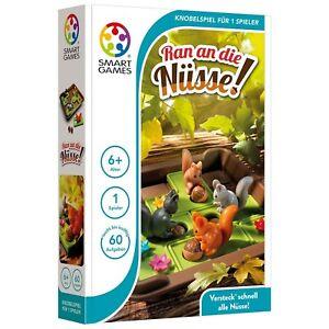 SMART GAMES 425 - Kompaktspiele - Ran an die Nüsse!