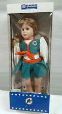 MIAMI DOLPHINS OFFICIAL NFL CHEERLEADERS DOLL FROM AMERICA'S SWEETHEARTS RARE
