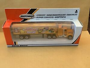 "Matchbox Convoy CY-9 Kenworth Box Truck ""Kelloggs Role Call""  New In Box"