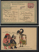 Netherlands  Indies  interesting post card to Germany  1911         KL0621