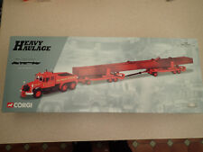 Corgi 1:50 18004 Scammell Contractor  Crane Girder Load Siddle Cook Untouched