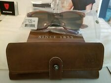 American Optical Saratoga Sunglasses AO Lite Nylon Cosmetan Brown Havana Frame