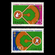 Italy 1973 - International Baseball Cup Sports - Sc 1110/1 MNH