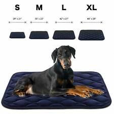 XXL XL L M S  orthopedic dog bed pillow crate pad washable mat mattress pets