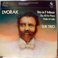 Suk Trio - Dvorak Piano In F Minor LP Mint- PMC 7204 Vinyl 1981 Record