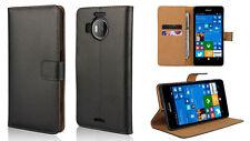 Genuine Real Leather Wallet Case for Nokia Lumia 950 & 950 XL