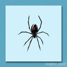 "Black Widow Spider - Vinyl Decal Sticker - c235 - 3.25"" x 3.75"""