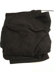 Ikea Kivik Ottoman Footstool Cover Slipcover Teno Black New open box 202.263.00