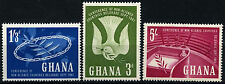 Ghana 1961 SG#265-7 Belgrade Conference MNH Set #D34559