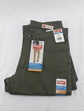 Mens Wrangler Straight Fit Green Jeans 30x32