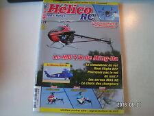 ** Hélico RC n°27 Le MD 7-8 de Ming Da / L'Embla / Le X3 / Hexacoptères