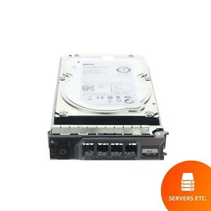 """DELL SEAGATE 3.5"""" 4TB 7.2K 6GBPS SAS HARD DRIVE - 529FG ST4000NM0023 USED"""