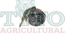 Nuffield 10/60 Tractor Oil & Temperature Gauge - Black Face