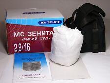 FishEye MC Zenitar-M 2.8/16mm For M42 screw mount. Brand NEW