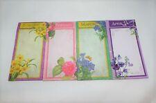 12 Months Floral Memo Sets