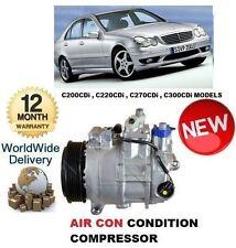 Per MERCEDES CLASSE C CDI Diesel 5/2000 -2007 aria con compressore CONDIZIONAMENTO