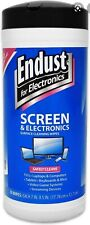 Endust for Electronics Cleaner Wipes Antistatic Lcd & Plasma Screen 70ct 11506
