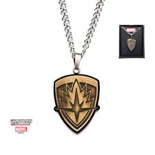 MARVEL COMICS: GUARDIANS OF THE GALAXY - CREST PENDANT ON CHAIN NECKLACE (NEW)