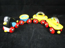 RARE Brio Friends LOT of 4 Trains Cars Penguins Wagon 2002-NIB-#30353 Magnetic
