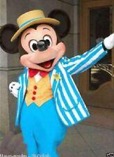 Disney Navy Blue Mickey Mouse Mascot Costume Adult Size Fancy dress