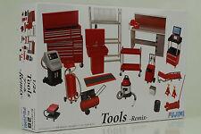 Diorama Werkstatt Zubehör Tools Remix Kit Bausatz ID-28 - 1:24 Fujimi 114392