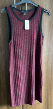 Brand New Ladies Forever 21 Dress Summer Knitted Sleeveless Size Large BNWT