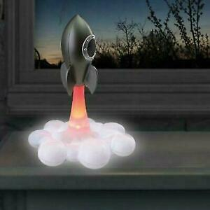 Rocket Lamp with Light-U Blast Off Effect