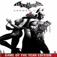 Batman Arkham City GOTY Region Free PC KEY (Steam)