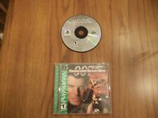 007: Tomorrow Never Dies  (Sony PlayStation 1, 1999) Complete PS1 Game