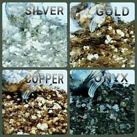 """4 Cups, Natural Mica Flakes Glitter Christmas Holiday Crafts (Approx Size 1/8"""")"""