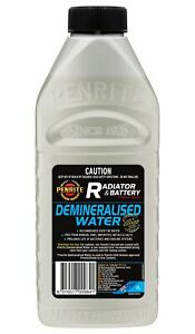 Penrite Demineralised Water 1L fits Citroen SM 2.7, 2.7 Injection, 2.9 Automa...