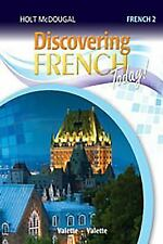 Discovering French Today: Student Edition Level 2 2013 (French Edition), HOLT MC
