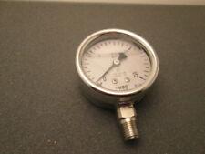 Ametek Usg 5zp93 Pressure Gauge 15 Psi New Old Stock