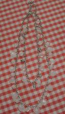 Handgefertigte Modeschmuck-Halsketten aus gemischten Metallen
