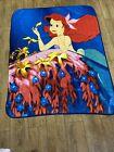 Disney+Little+Mermaid+Ariel+Throw+Blanket+Approx%C2%A0+48%22+x+60%22