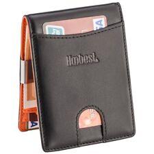 RFID Blocking Wallet SIim Money Clip Credit Card Holder UK