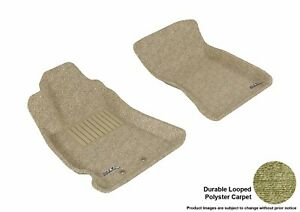 For 2009-2013 Subaru Forester R1 Classic Carpet Tan All Weather Floor Mat