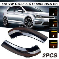 Dynamic LED Mirror Indicator Turn Signal Light For VW Jetta MK5 Golf 5 GTI EOS