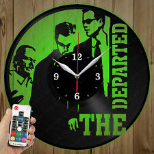 LED Vinyl Clock The Departed LED Wall Art Decor Clock Original Gift 4927