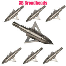 Archery Blade Broadheads 100/125 Grain Crossbow Recurve Compound Bow Arrow Tips