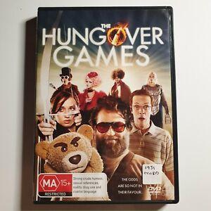 The Hungover Games | Comedy/Parody DVD | 2014 | Tara Reid, Herbert Russell | PAL