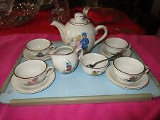 Childs Tea Set Service For 4 Cute